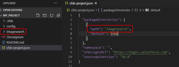Update JSON file